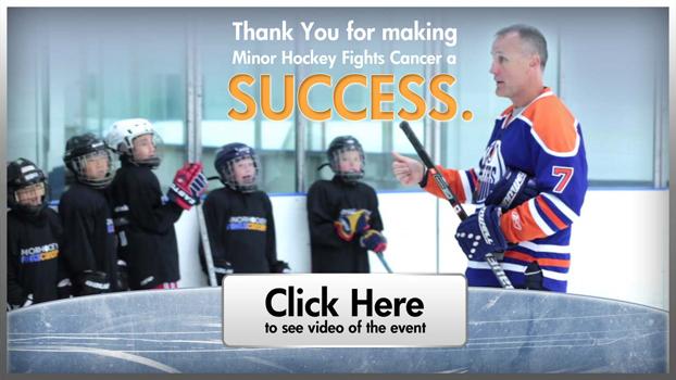 Thank you for making Minor Hockey Fights Cancer a success