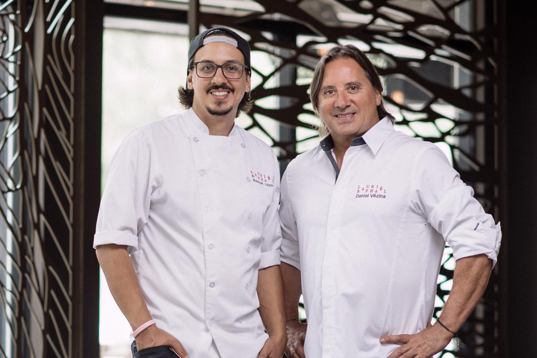 Daniel & Raphaël Vézina - Restaurant Laurie Raphaël [https://laurieraphael.com]