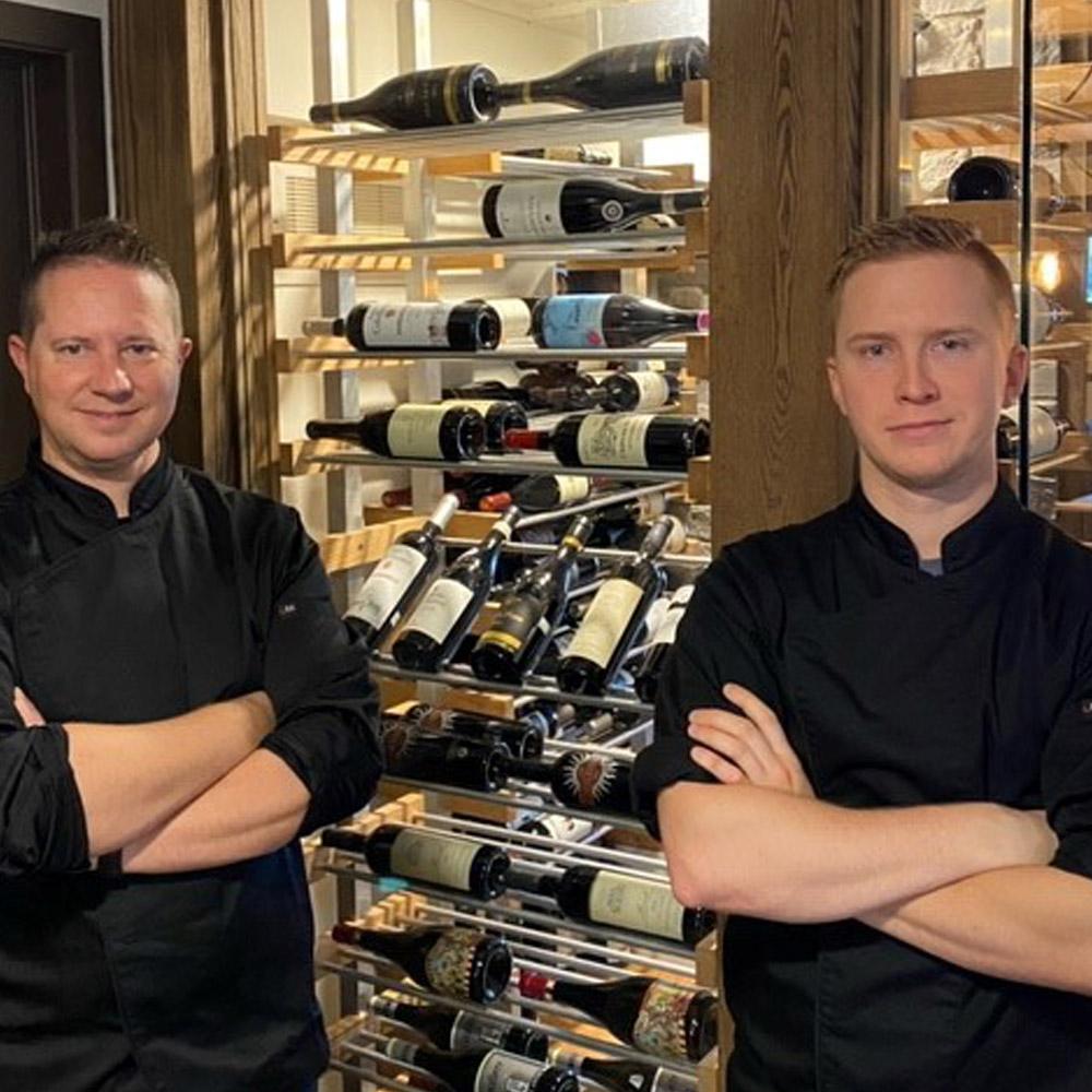 Patrick Leblanc & Nicolas Bouchard - Le Bistro Montebello [http://lebistromontebello.ca]