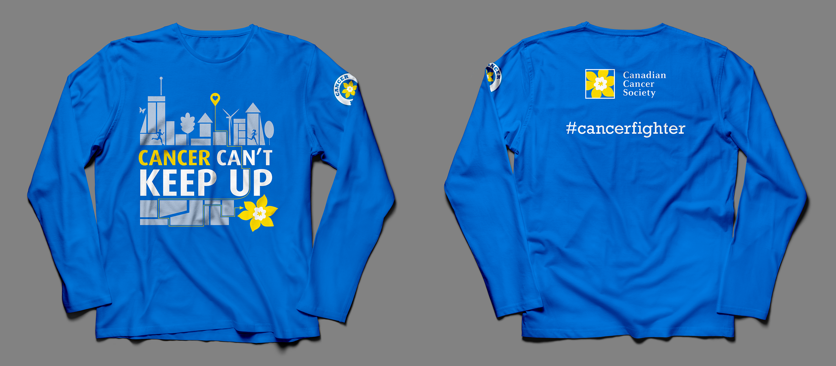 Canadian Cancer Society Running Shirt