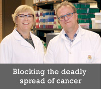 Blocking the deadly spread of cancer