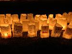 New Brunswick Relay For Life Luminary Ceremony.
