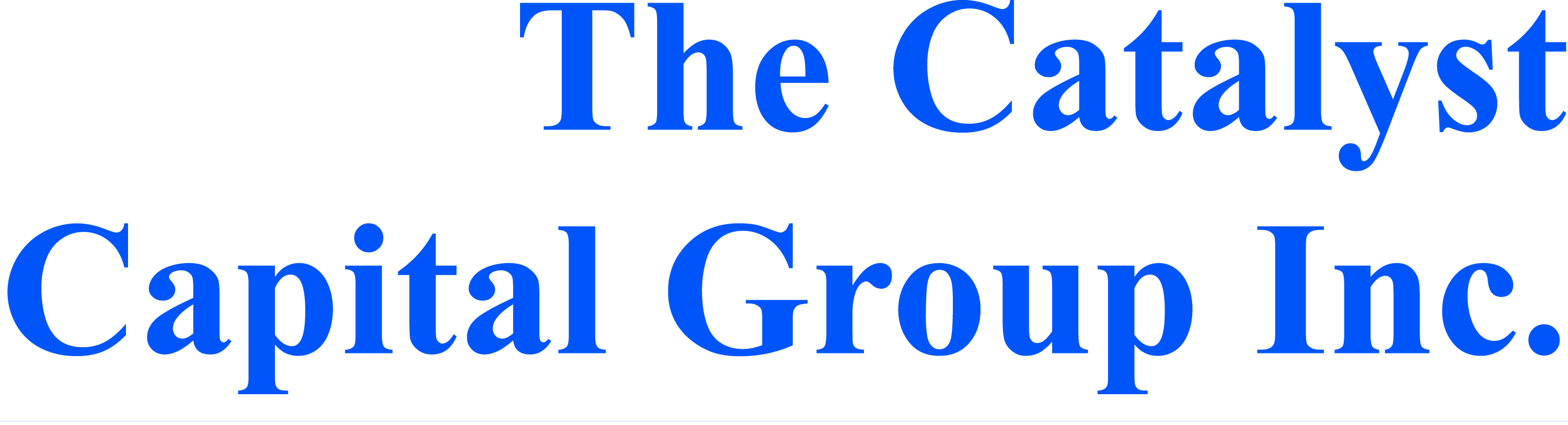 The Catalyst Capital Group Inc.